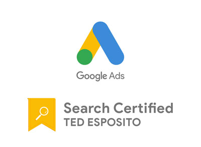 Ted Esposito Google Ads Search Certification